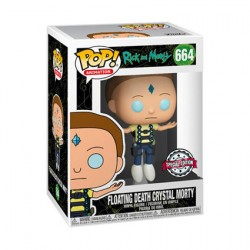 Pop Cartoons Rick and Morty Floating Death Crystal Morty Limited Edition