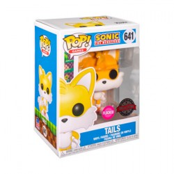 Figuren Pop Flockiert Sonic the Hedgehog Tails Limitierte Auflage Funko Genf Shop Schweiz