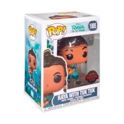 Figur Pop Disney Raya and the Last Dragon Young Raya with Baby Tuk Tuk Limited Edition Funko Geneva Store Switzerland