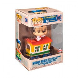 Figurine Pop Disneyland 65th Anniversary Minnie Train Carriage Edition Limitée Funko Boutique Geneve Suisse