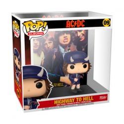 Figurine Pop Rock AC/DC Highway to Hell Album avec Boîte de Protection Acrylique Funko Boutique Geneve Suisse