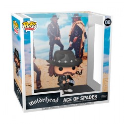 Figuren Pop Rock Motorhead Ace of Spades Album with Hard Acrylic Protector Funko Genf Shop Schweiz