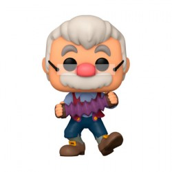 Figur Pop Disney Pinocchio Gepetto with Accordion Funko Geneva Store Switzerland