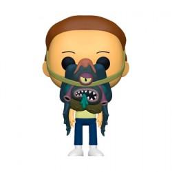 Figurine Pop Rick et Morty - Morty avec Glorzo Funko Boutique Geneve Suisse