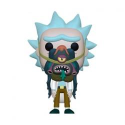 Figurine Pop Rick et Morty Rick avec Glorzo Funko Boutique Geneve Suisse