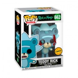 Figur Pop Rick and Morty Teddy Rick Chase Limited Edition Funko Geneva Store Switzerland