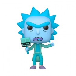 Figur Pop Rick and Morty Hologram Rick Clone Funko Geneva Store Switzerland