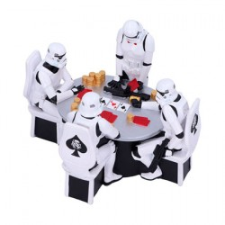 Figurine Star Wars Diorama Stormtrooper Poker Face Nemesis Now Boutique Geneve Suisse