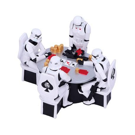 Figur Star Wars Diorama Stormtrooper Poker Face Nemesis Now Geneva Store Switzerland