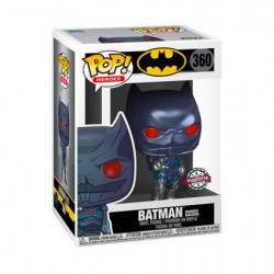 Figur Pop Metallic Batman Murder Machine Limited Edition Funko Geneva Store Switzerland