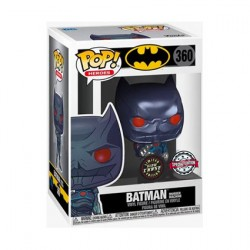 Figurine Pop Phosphorescent Métallique Batman Murder Machine Chase Edition Limitée Funko Boutique Geneve Suisse