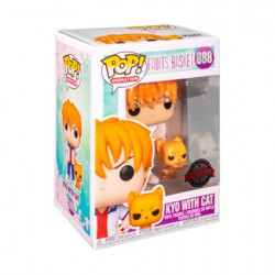 Figurine Pop Fruits Basket Kyo avec Chat Edition Limitée Funko Boutique Geneve Suisse