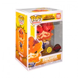 Figur Pop Glow in the Dark My Hero Academia Endeavour Limited Edition Funko Geneva Store Switzerland