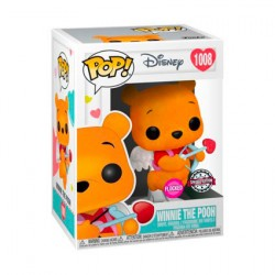 Figurine Pop Floqué Disney Winnie l'Ourson Saint Valentin Edition Limitée Funko Boutique Geneve Suisse