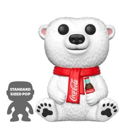 Figur Pop 25 cm Coca Cola Polar Bear Limited Edition Funko Geneva Store Switzerland
