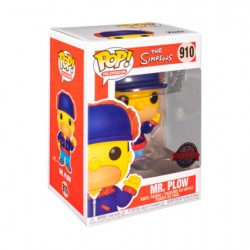 Figurine Pop The Simpsons Mr Plow Edition Limitée Funko Boutique Geneve Suisse