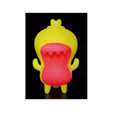 Figurine Crocadoca Phosphorescent Jaune par David Horvath Toy2R Boutique Geneve Suisse