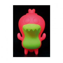 Figurine Crocadoca Phosphorescent Rose par David Horvath Toy2R Boutique Geneve Suisse