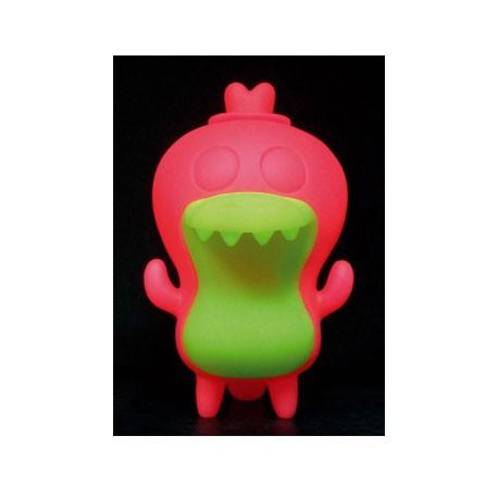 Figurine Crocadoca Phosphorescent Rose par David Horvath Toy2R Boutique Geneve Suisse
