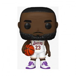 Pop Basketball NBA Lakers Lebron James White Uniform