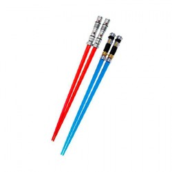 Star Wars Lightsaber Chopsticks Darth Maul & Obi-Wan Kenobi