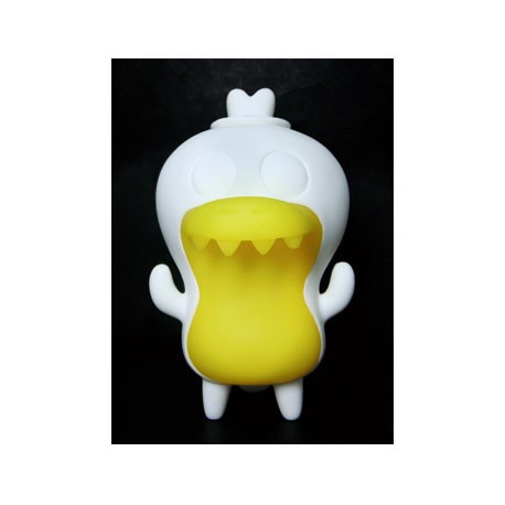 Figurine Crocadoca Phosphorescent Blanc par David Horvath Toy2R Boutique Geneve Suisse