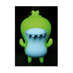 Figurine Crocadoca Phosphorescent Vert par David Horvath Toy2R Boutique Geneve Suisse
