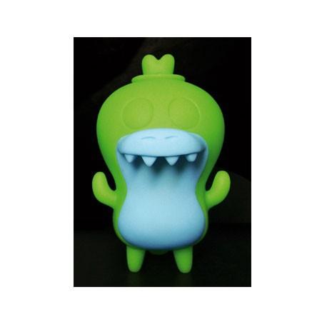 Figuren Crocadoca Green Phosphoreszierend von David Horvath Toy2R Uglydoll und Bossy Bear Genf