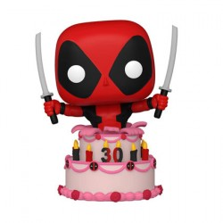 Figur Pop Marvel Deadpool 30th Anniversary Deadpool in Cake Funko Geneva Store Switzerland