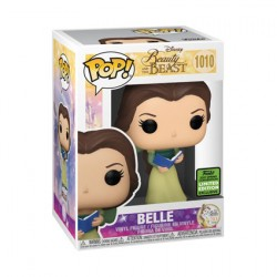 Figur Pop ECCC 2021 Beauty and the Beast Belle Green Dress with Book Limited Edition Funko Geneva Store Switzerland