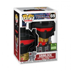 Figuren Pop ECCC 2021 Metallisch Transformers Grimlock Limitierte Auflage Funko Genf Shop Schweiz