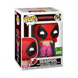 Figur Pop ECCC 2021 Deadpool with Teddy Belt Limited Edition Funko Geneva Store Switzerland
