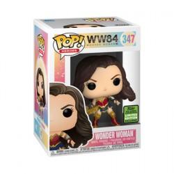 Figurine Pop ECCC 2021 Wonder Woman avec Tiara Boomerang Edition Limitée Funko Boutique Geneve Suisse