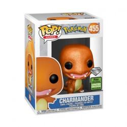 Figuren Pop ECCC 2021 Diamond Pokemon Charmander Limitierte Auflage Funko Genf Shop Schweiz