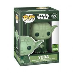 Figurine Pop ECCC 2021 Star Wars Yoda Vert Edition Limitée Funko Boutique Geneve Suisse