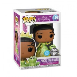 Figurine Pop Diamond Glitter The Princess and the Frog Tiana et Naveen Edition Limitée Funko Boutique Geneve Suisse