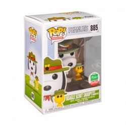 Figurine Pop Peanuts Beagle Scout Snoopy avec Woodstock Edition Limitée Funko Boutique Geneve Suisse