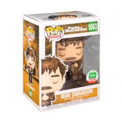 Figurine Pop Parks et Recreation Ron Swanson Snake Juice Edition Limitée Funko Boutique Geneve Suisse