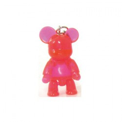 Qee Mini Bear Clear Pink
