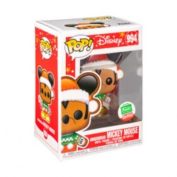 Figurine Pop Mickey Mouse Gingerbread Mickey Mouse Edition Limitée Funko Boutique Geneve Suisse