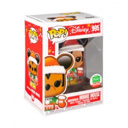 Figur Pop Mickey Mouse Gingerbread Minnie Mouse Limited Edition Funko Geneva Store Switzerland