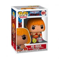 Figurine Pop Phosphorescent Les Maîtres de l'univers He-Man Edition Limitée Funko Boutique Geneve Suisse