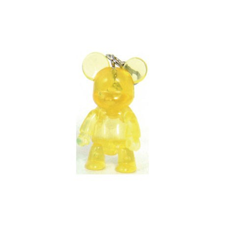 Figur Qee Mini Bear Clear Yellow Toy2R Geneva Store Switzerland