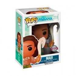 Figurine Pop Disney Moana Maui avec Weapon Striking Édition Limitée Funko Boutique Geneve Suisse