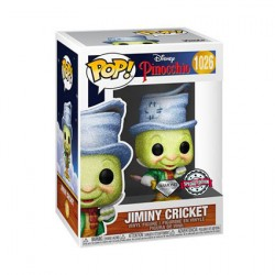Figurine Pop Diamond Disney Pinocchio Street Jiminy Cricket Edition Limitée Funko Boutique Geneve Suisse