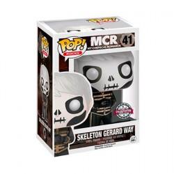 Figur Pop My Chemical Romance Gerard Way Skeleton Face Limited Edition Funko Geneva Store Switzerland