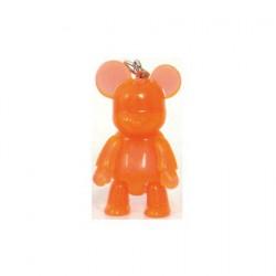 Figur Qee Mini Bear Clear Orange Toy2R Geneva Store Switzerland
