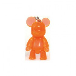 Figurine Qee Mini Bear Clear Orange Toy2R Boutique Geneve Suisse