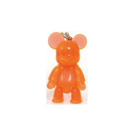 Figur Qee Mini Bear Clear Orange Toy2R Qee Small Geneva