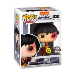 Figur Pop Glow in the Dark Avatar The Last Airbender Zuko with Lightning Limited Edition Funko Geneva Store Switzerland